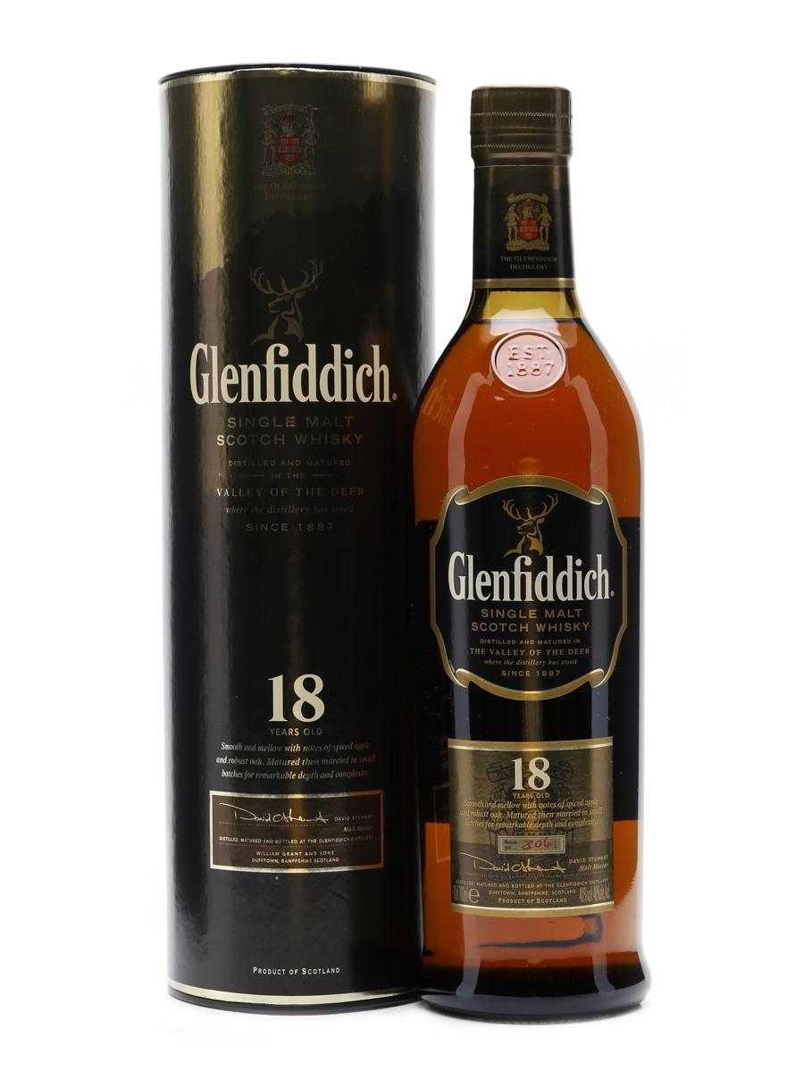 Glenfiddich 18 Years Old Old Presentation 70cl
