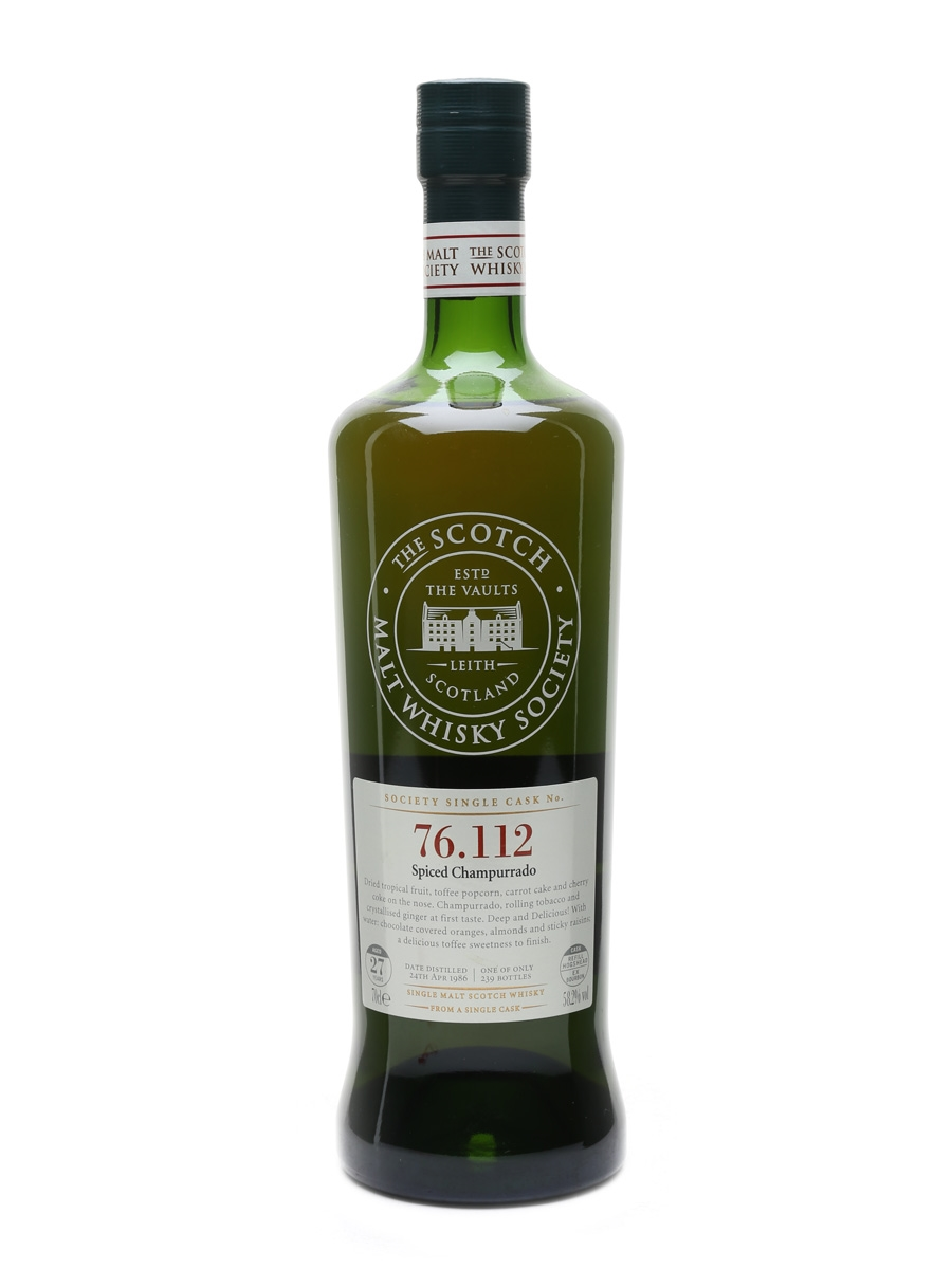 SMWS 76.112 Mortlach 1986 70cl / 58.2%