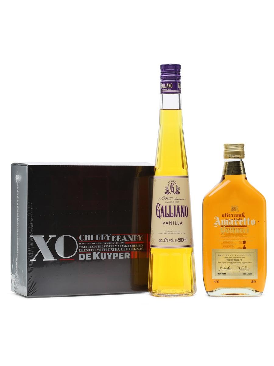 3 x Assorted Liqueurs 50cl