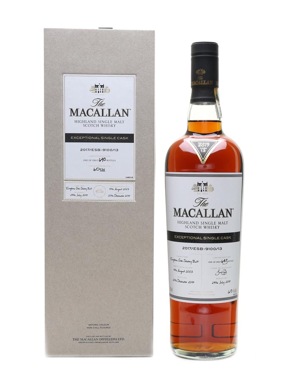 Macallan 2003 Exceptional Single Cask 70cl / 60%