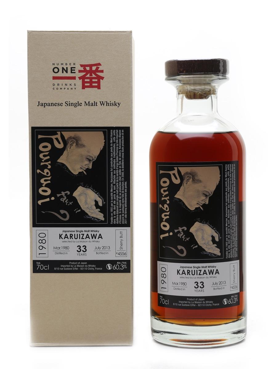 Karuizawa 1980 Cask #4556 Bottled 2013 - La Maison Du Whisky 70cl / 60.3%