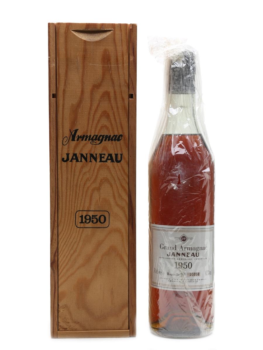 Janneau 1950 Bottled 1987 - Grand Armagnac 70cl / 42%