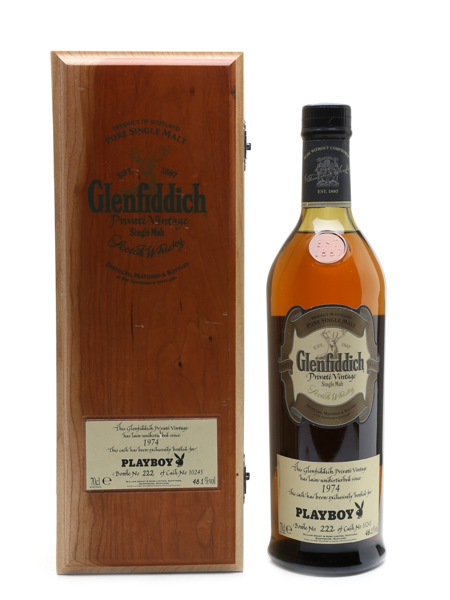 Glenfiddich 1974 Private Vintage Playboy 70cl / 48.1%