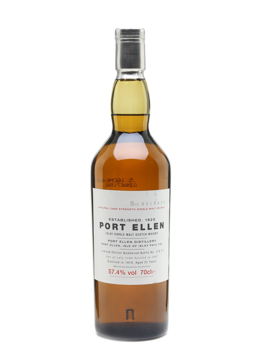 Port Ellen 1979 - 5th Release 25 Year Old 70cl / 57.4%