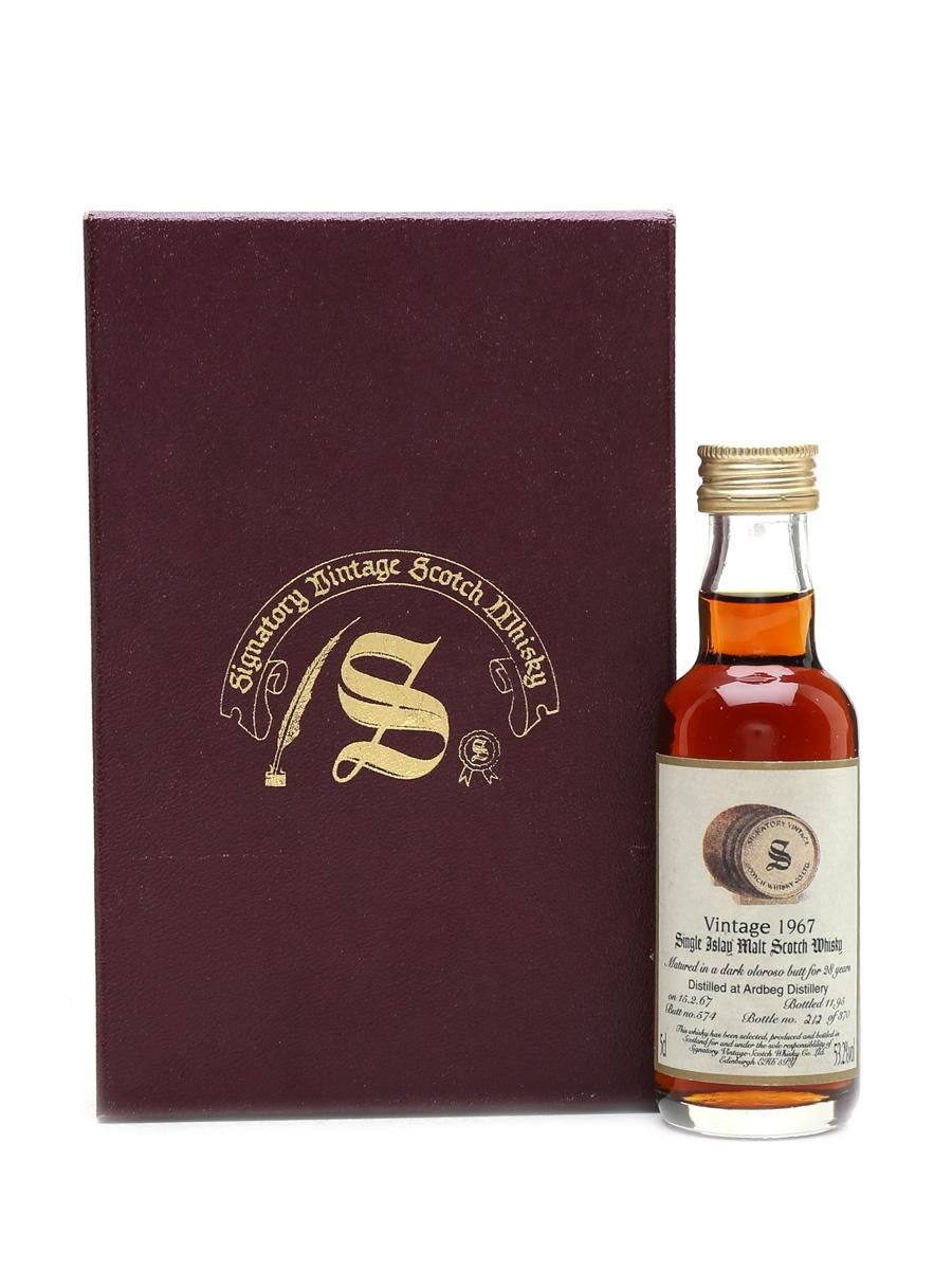 Ardbeg 1967 28 Year Old - Signatory Vintage 5cl / 53.2%