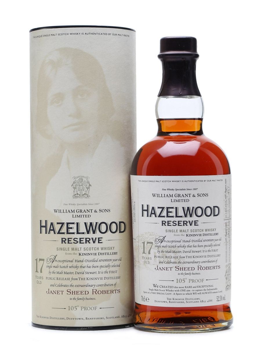 Hazelwood Reserve Kininvie 1990 17 Years Old 70cl