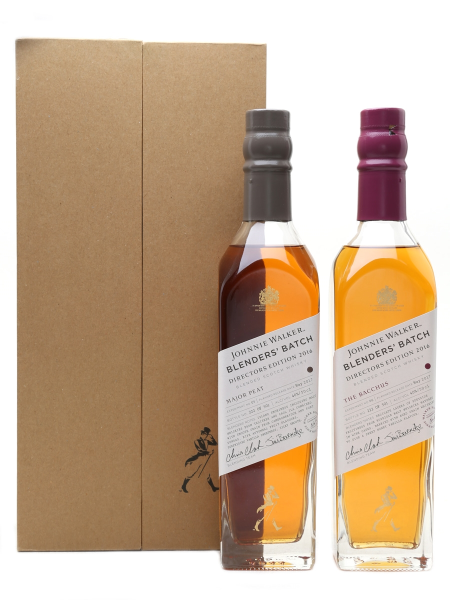Johnnie Walker Blenders' Batch Experiments 05 & 06 Director's Edition 2016 2 x 50cl / 40%