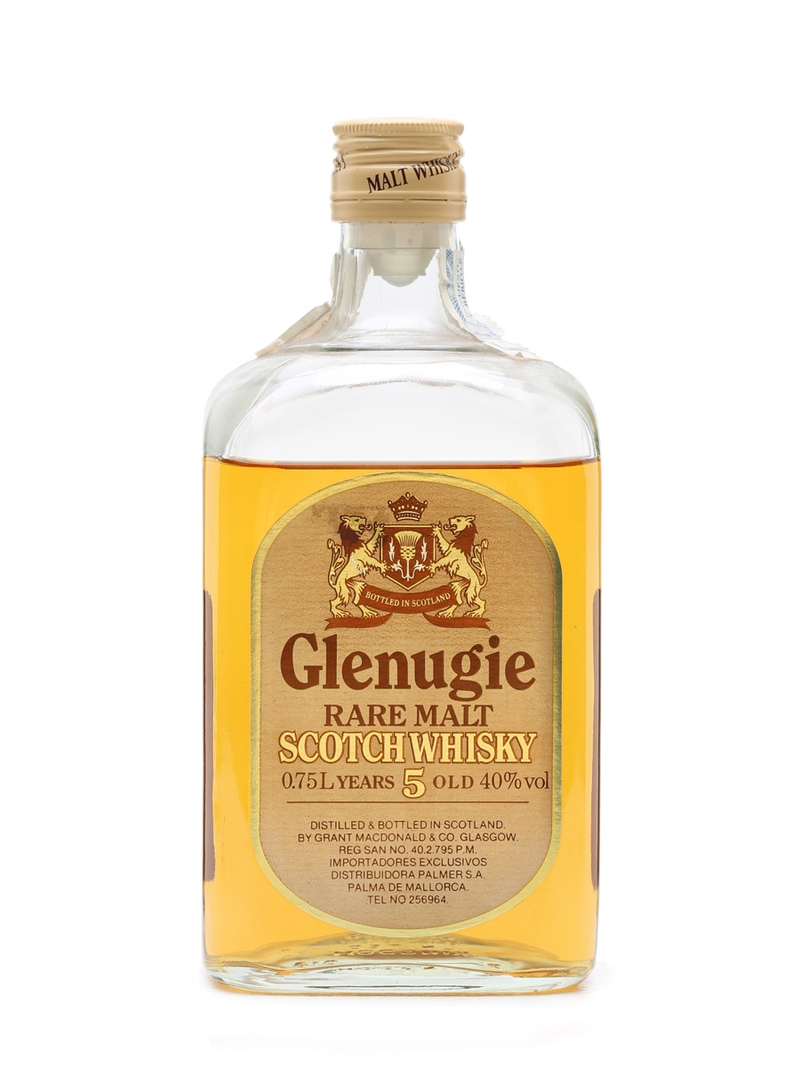 Glenugie 5 Years Old Bottled 1980s 75cl