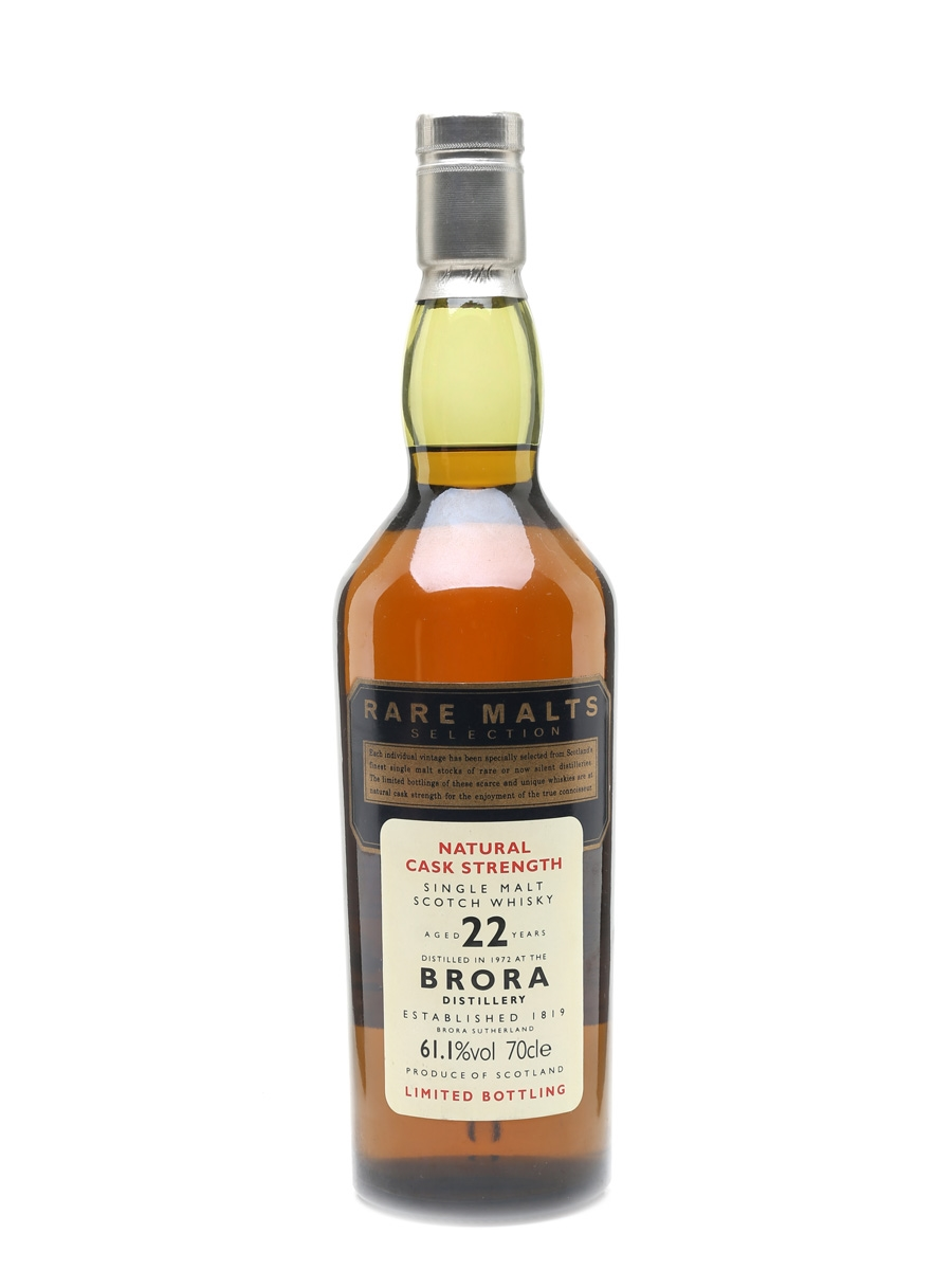 Brora 1972 22 Year Old Rare Malts 70cl / 61.1%