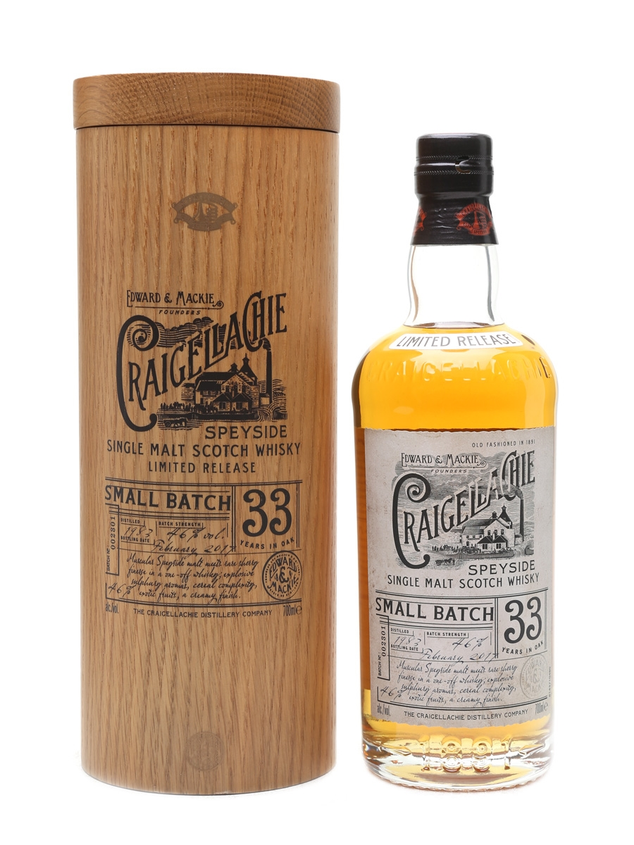 Craigellachie 1983 33 Year Old 70cl / 46%