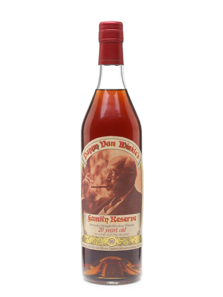 Pappy Van Winkle's 20 Year Old Bottled Pre 2000 - Stitzel-Weller 70cl / 45.2%