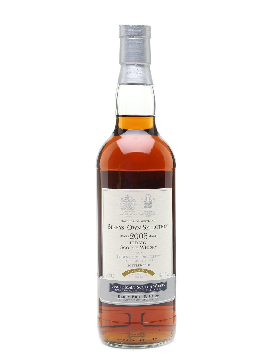 Ledaig 2005 Single Cask Bottled 2010 - Berry Bros & Rudd 70cl / 62.7%