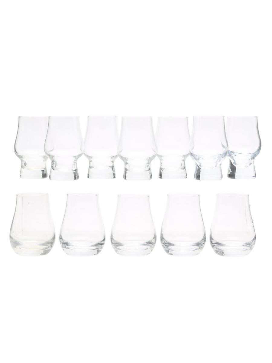 7 x Perfect Dram Glasses & 5 x Spey Dram Glasses Whisky Glass