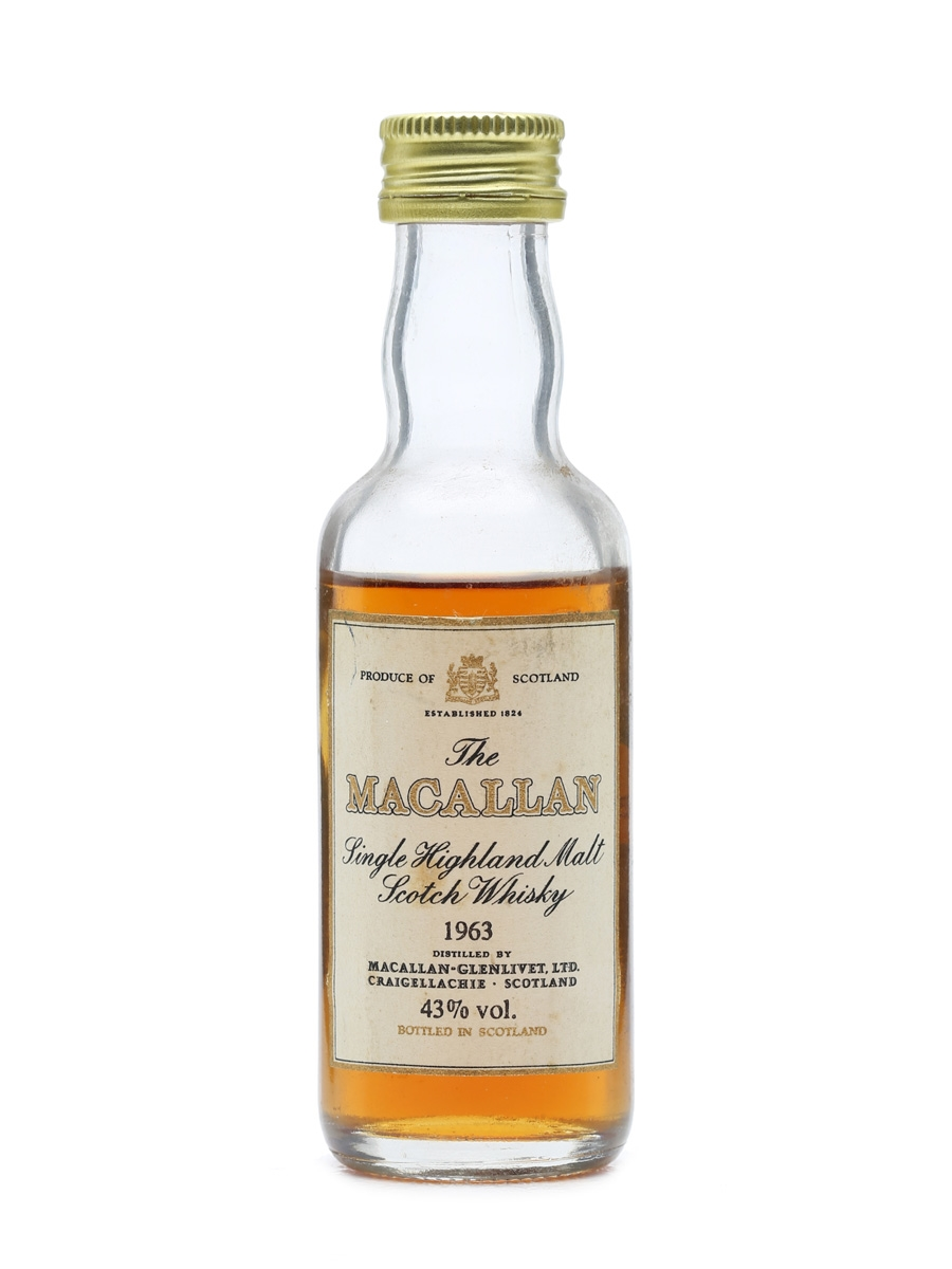 Macallan 1963 Miniature