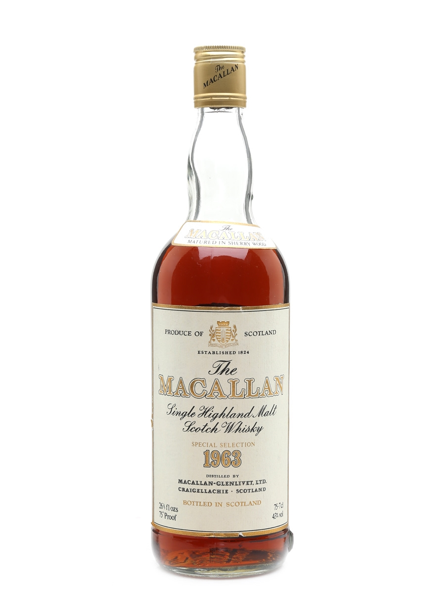 Macallan 1963 Bottled 1970s-1980s 75.7cl / 43%