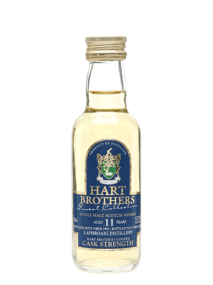 Laphroaig 1994 11 Year Old Bottled 2005 - Hart Brothers 5cl / 52.9%