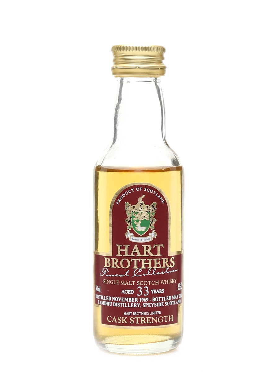 Tamdhu 1969 33 Year Old Bottled 2003 - Hart Brothers 5cl / 40.5%