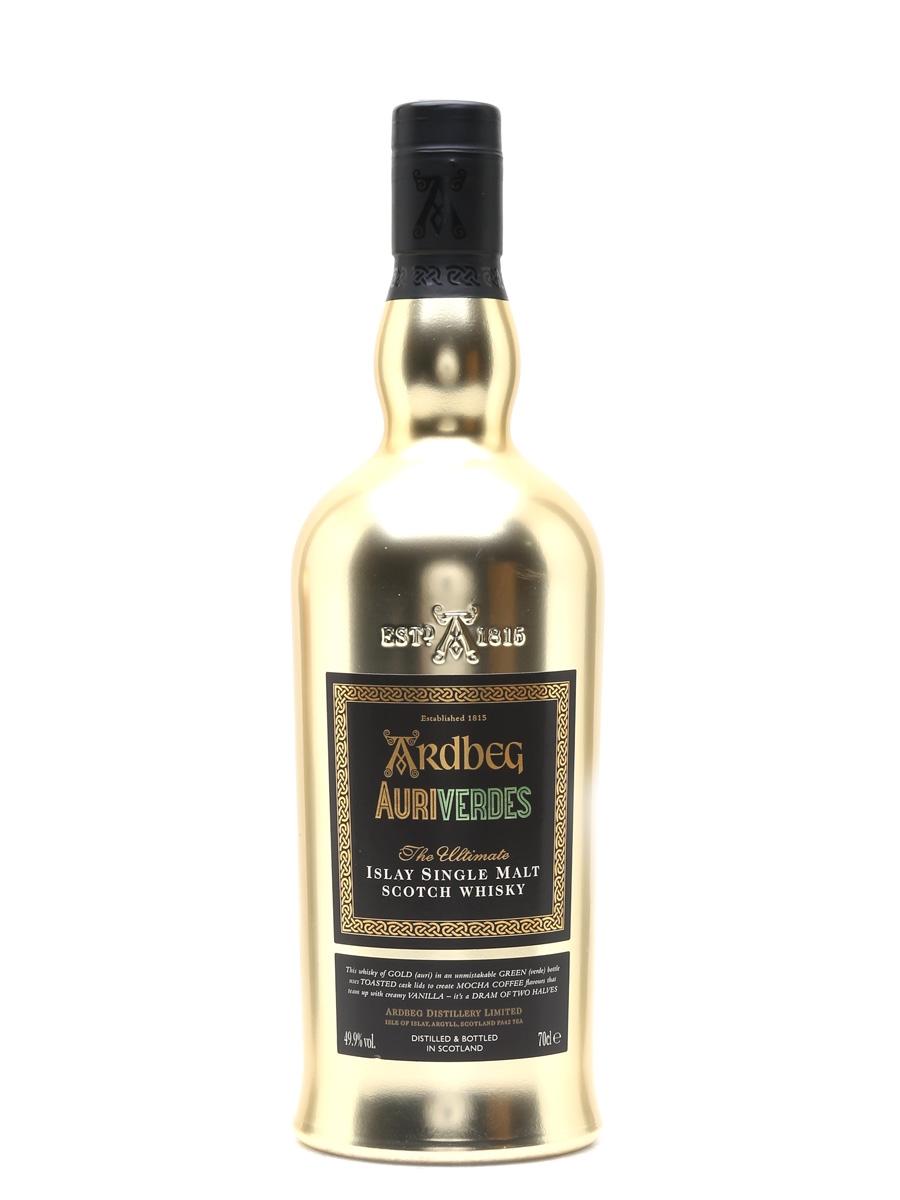 Ardbeg Auriverdes Gold Edition Feis Ile 2014 - Sample Bottle 70cl / 49.9%