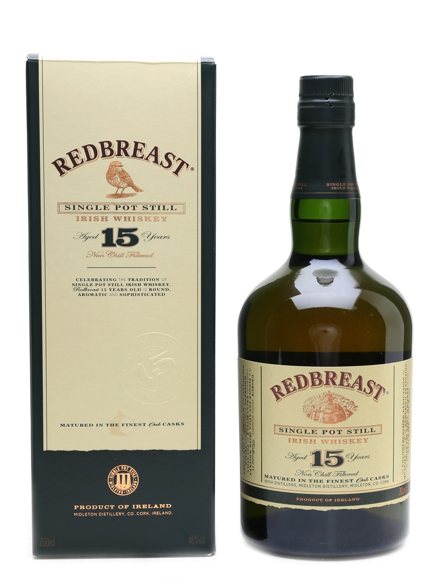 Redbreast 15 Year Old Old Presentation 70cl / 46%