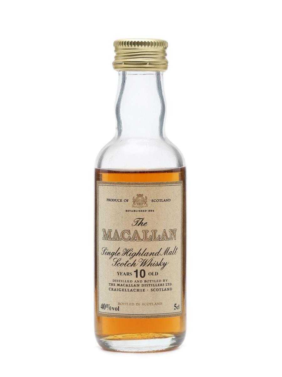 Macallan 10 Years Old Miniature 40%