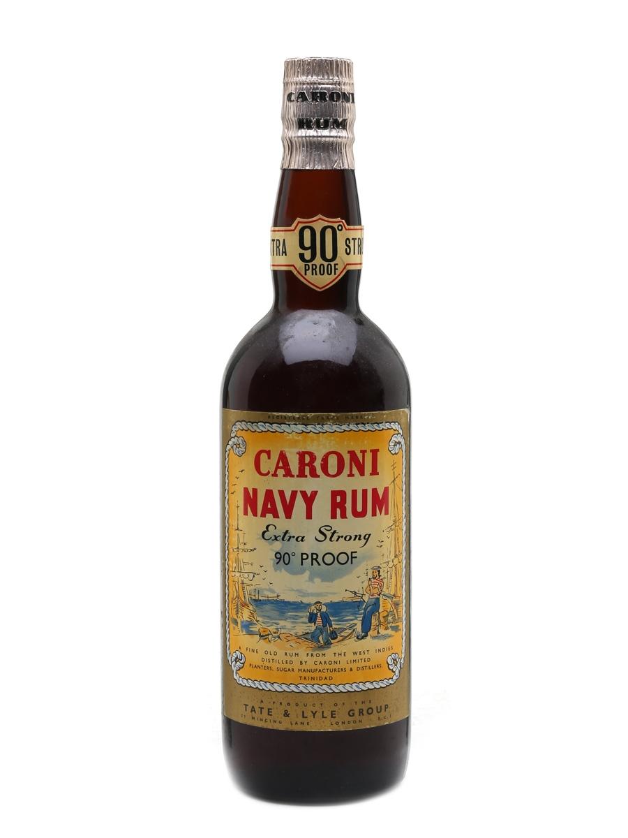 Caroni 90 Proof Navy Rum Bottled 1960s 75cl / 51.4%
