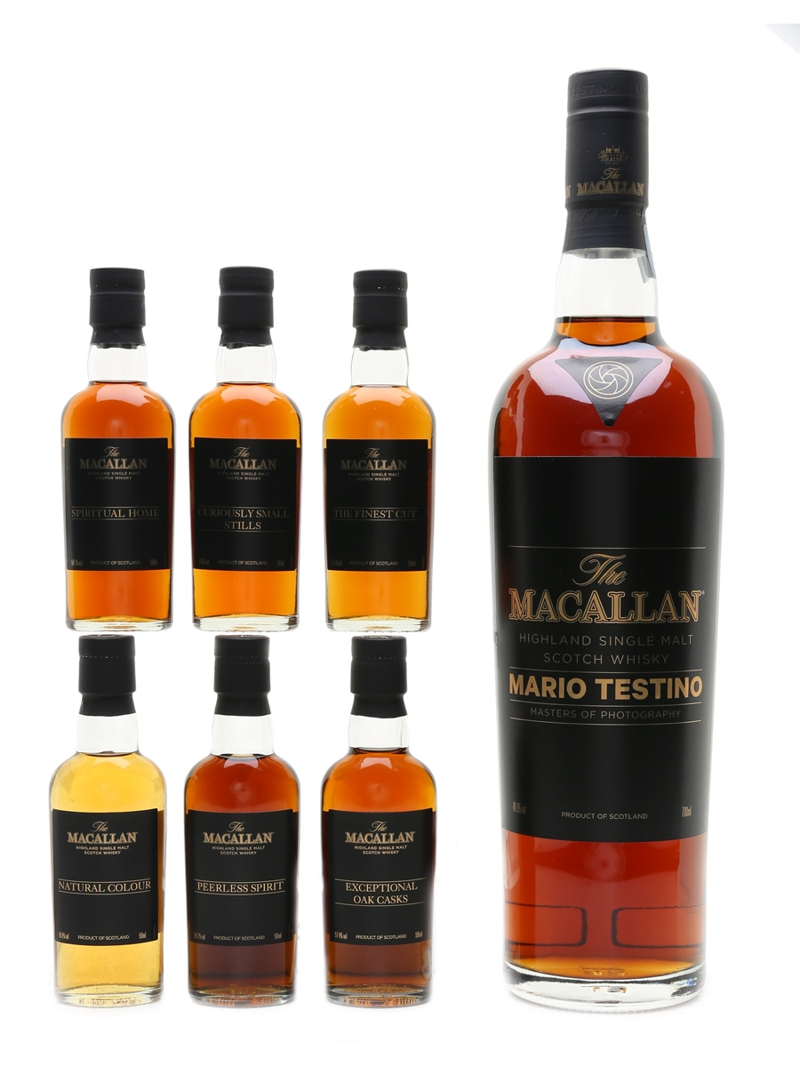 Macallan Masters Of Photography Mario Testino - Red 70cl & 6 x 5cl