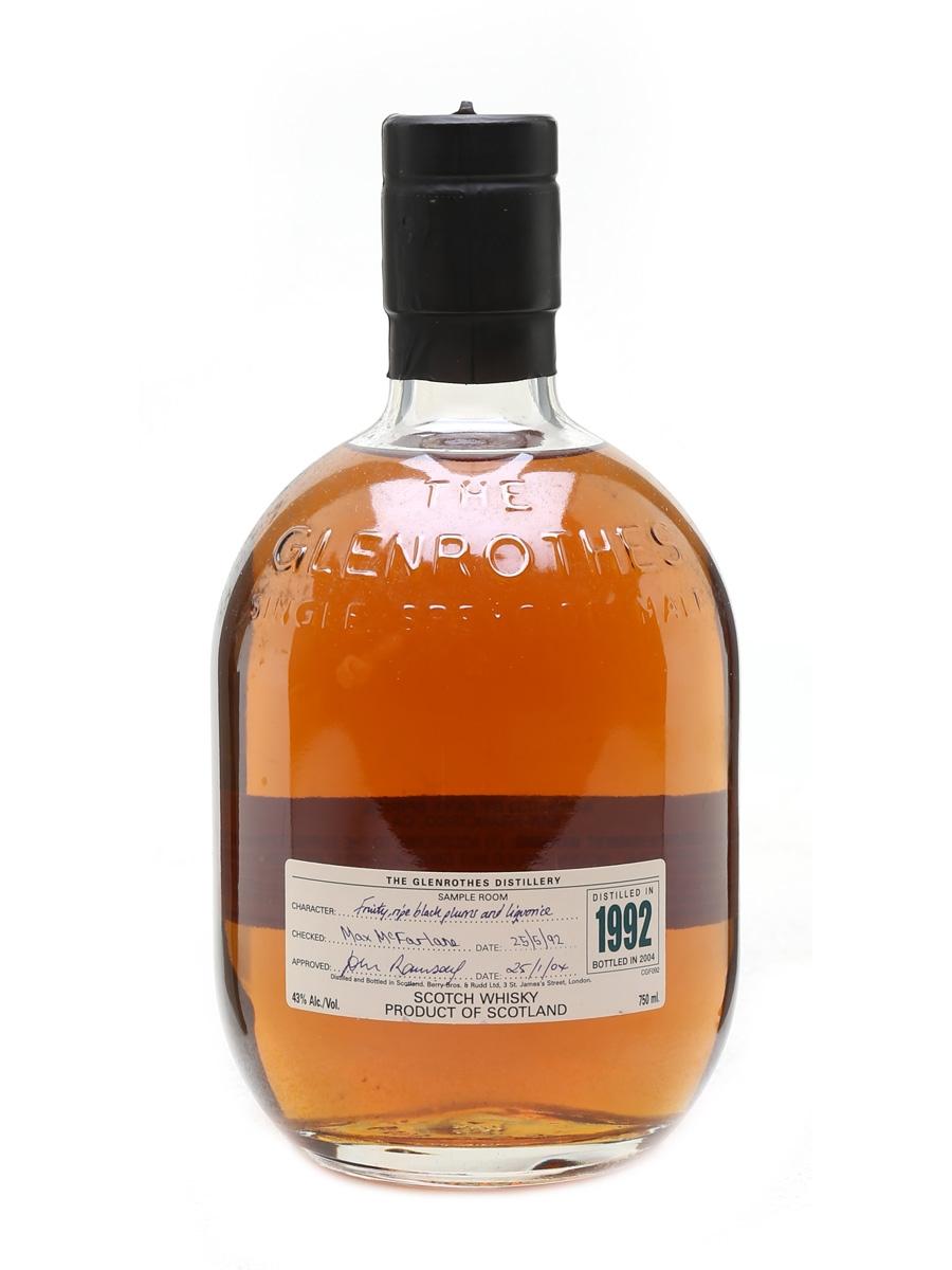 Glenrothes 1992 Bottled 2004 75cl / 43%