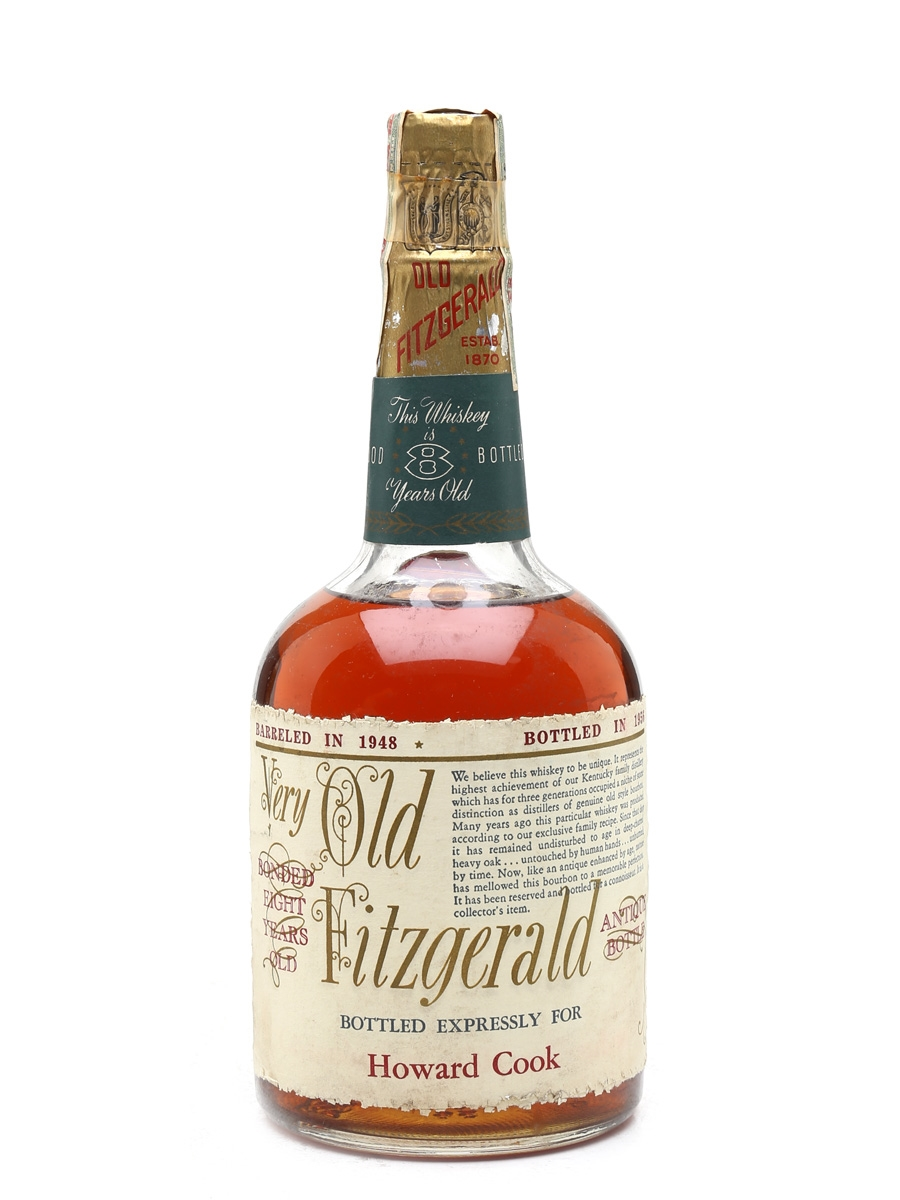 Very Old Fitzgerald 8 Year Old 1948 Stitzel-Weller - Bottled 1956 75.7cl / 50%