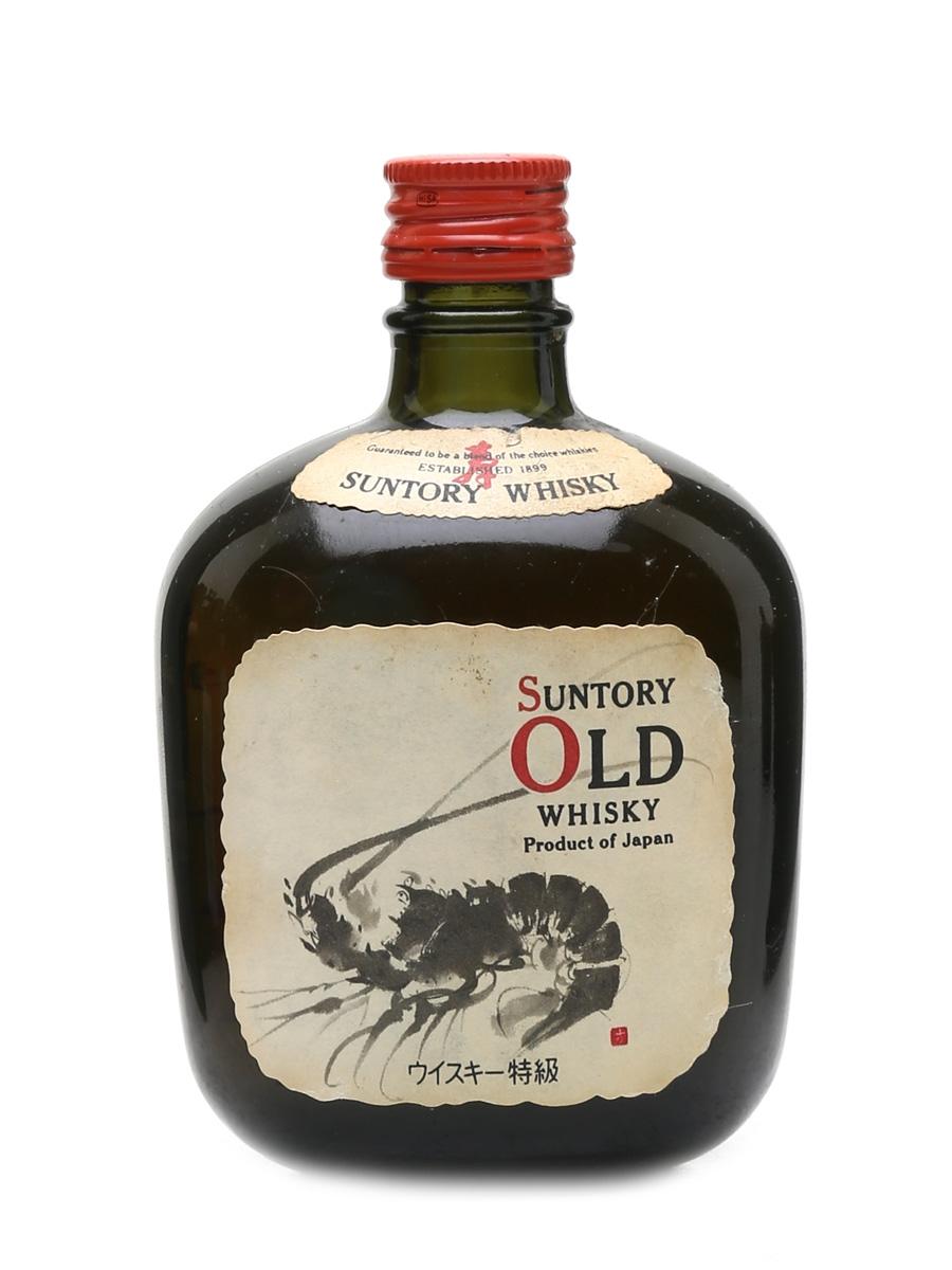 Suntory Old Whisky Shrimp Label 10cl / 43%