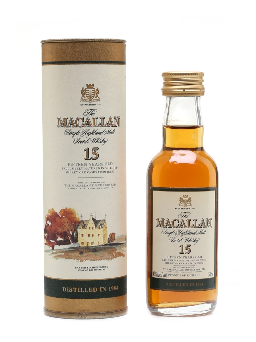 Macallan 1984 15 Year Old - Remy Amerique, New York 5cl / 43%