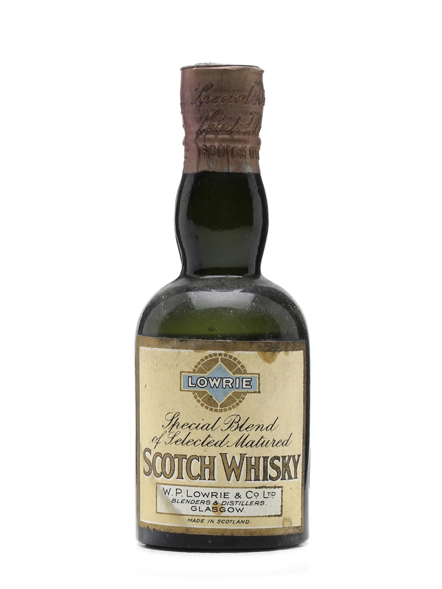 Lowrie Blended Scotch Whisky Miniature