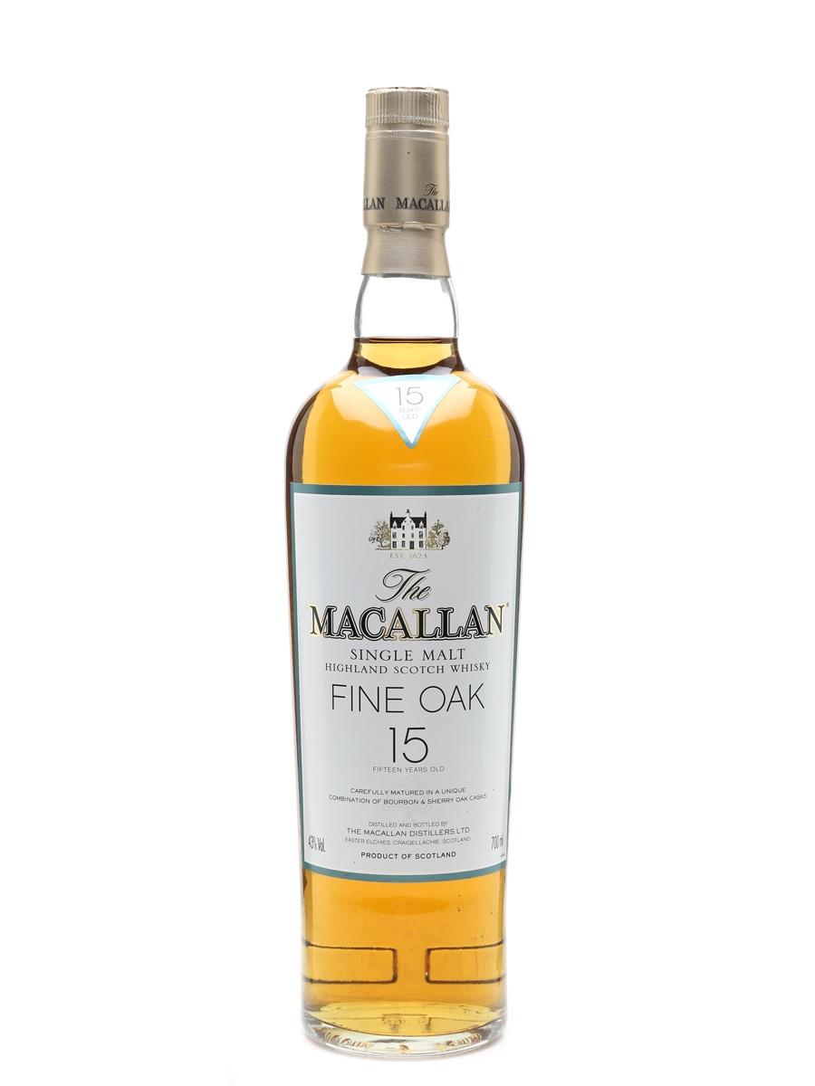 Macallan 15 Year Old Fine Oak  70cl / 43%