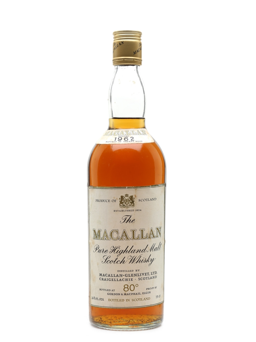 Macallan 1962 Campbell, Hope & King Bottled 1970s-1980s 75cl / 46%