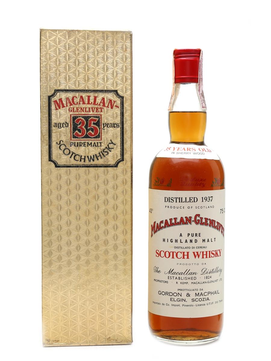 Macallan Glenlivet 1937 35 Year Old - Edwards And Edwards 75cl / 43%