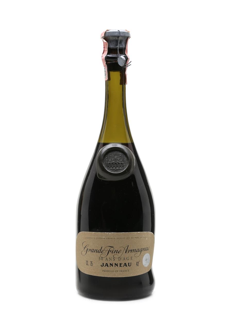 Janneau 50 Year Old Bottled 1960s-1970s - Ghirlanda 75cl / 42%