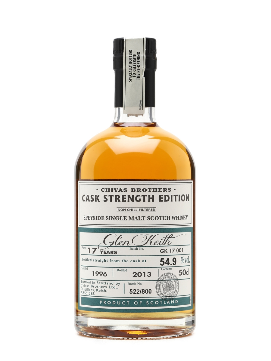 Glen Keith 1996 Re-opening Edition 17 Years Old 50cl