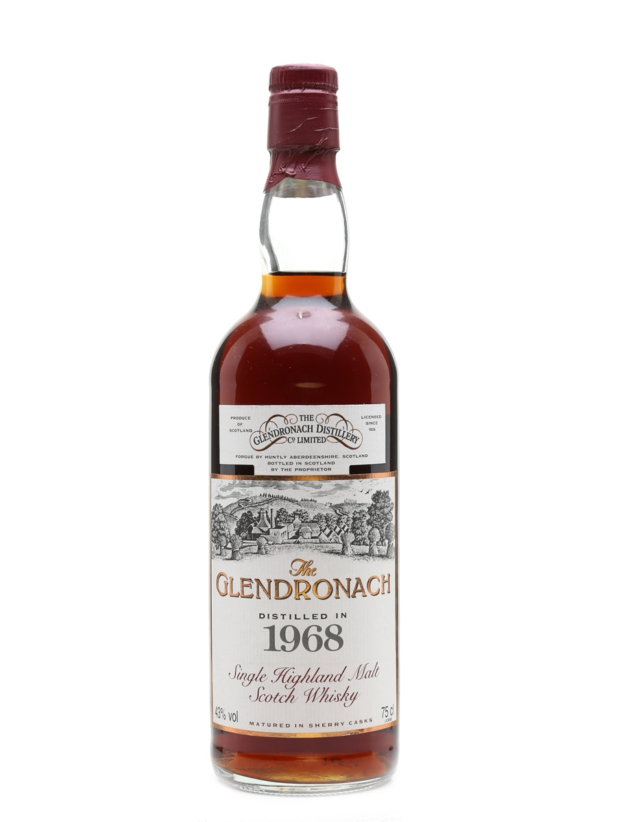 Glendronach 1968 25 Year Old - All Nippon Airways 75cl / 43%