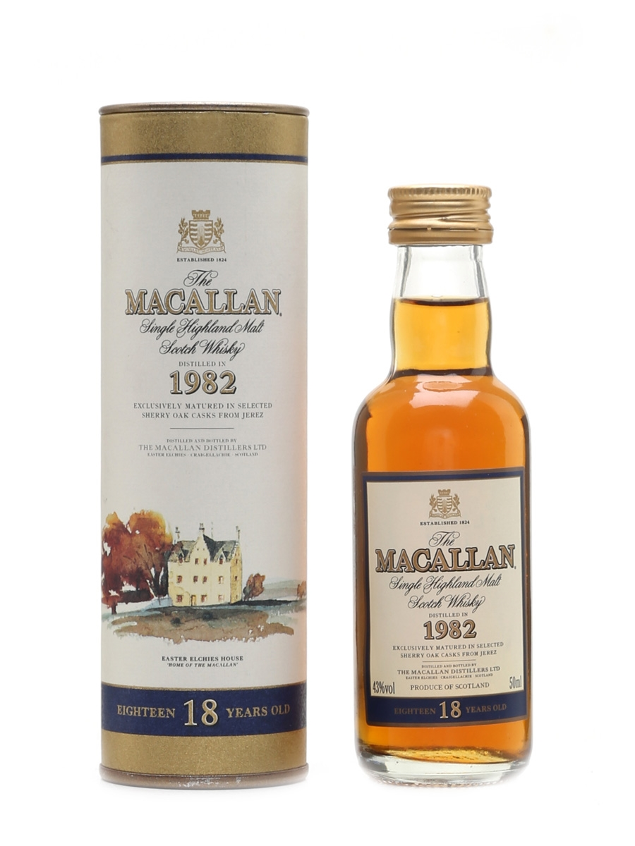 Macallan 1982 18 Year Old 5cl / 43%