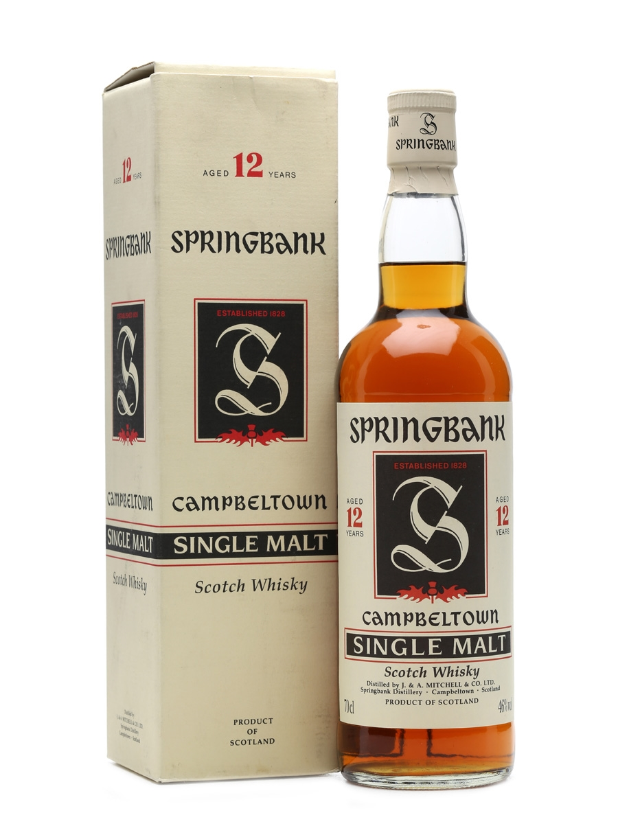 Springbank 12 Years Old 70cl 46%