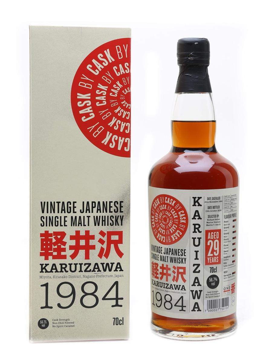 Karuizawa 1984 Cask #7802 29 Year Old - Cask By Cask 70cl / 56.7%