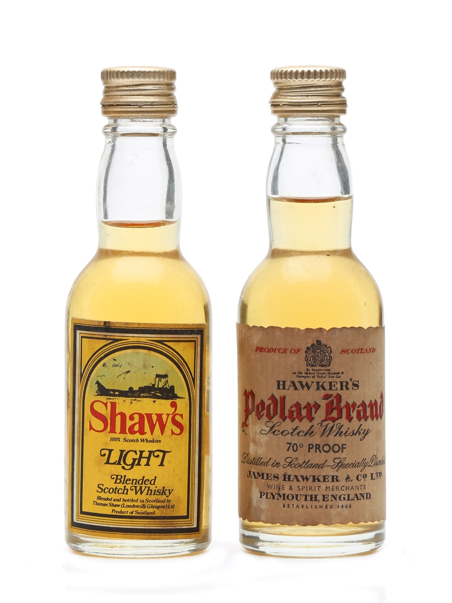 2 x Blended Scotch Whisky Miniatures