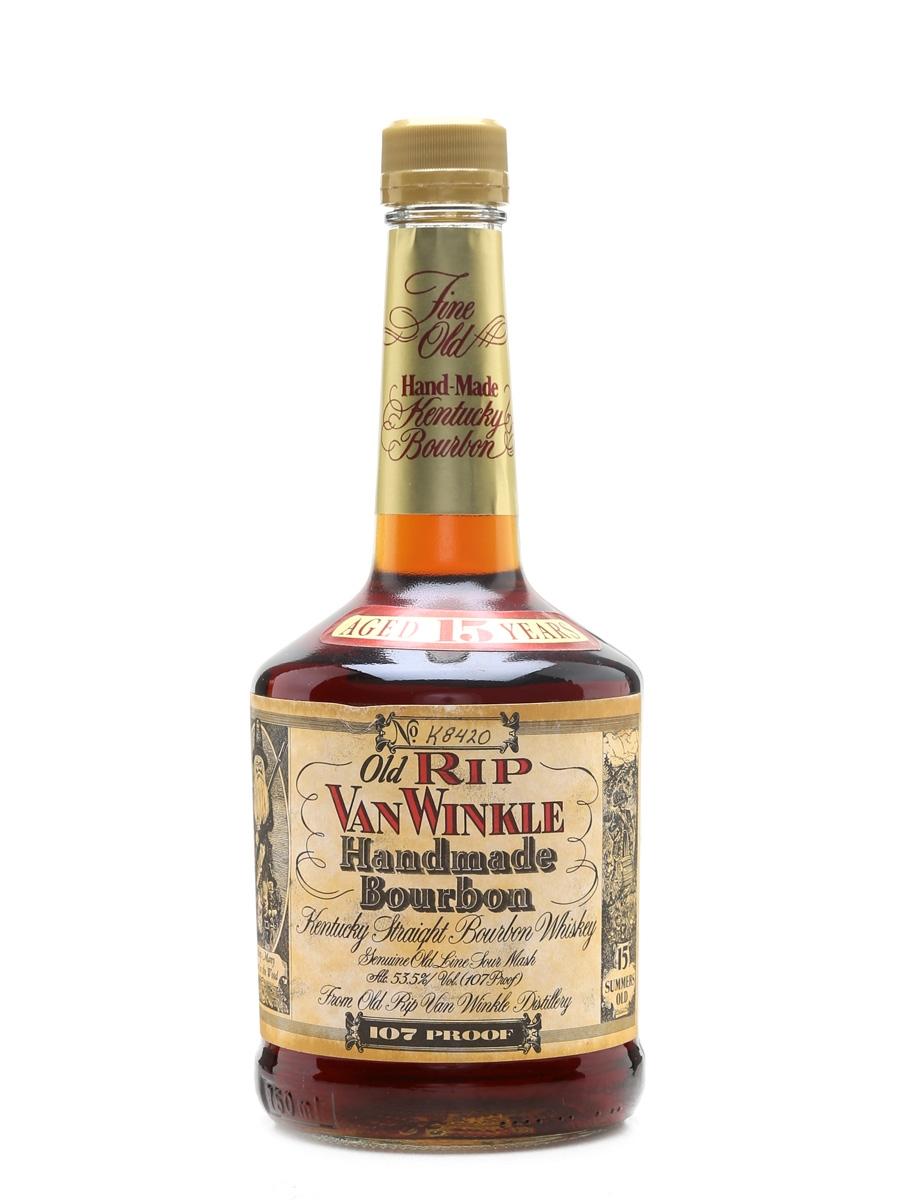 Old Rip Van Winkle 15 Year Old Bottled 1990s - Stitzel-Weller 70cl / 53.5%