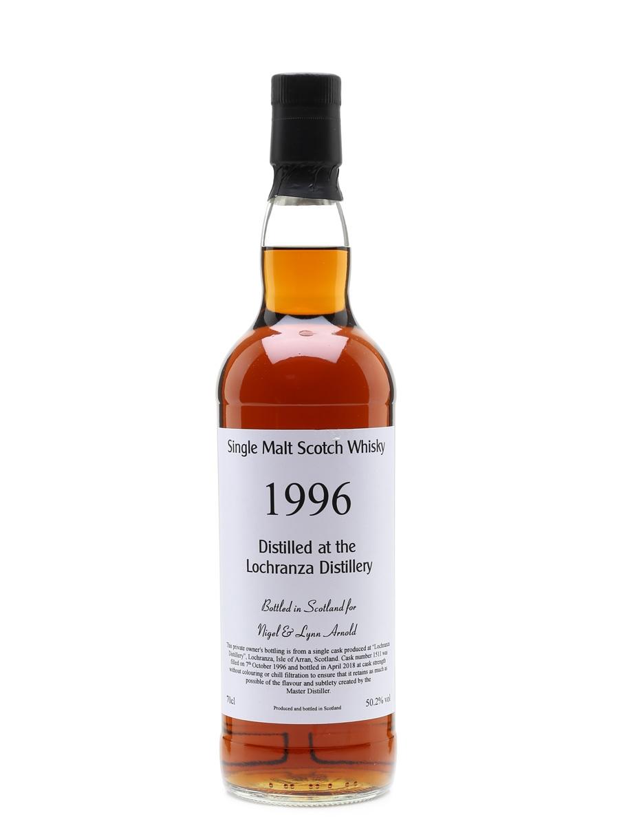Lochranza 1996 Private Cask Bottled 2018 - Isle of Arran Distillers Ltd. 70cl / 50.2%