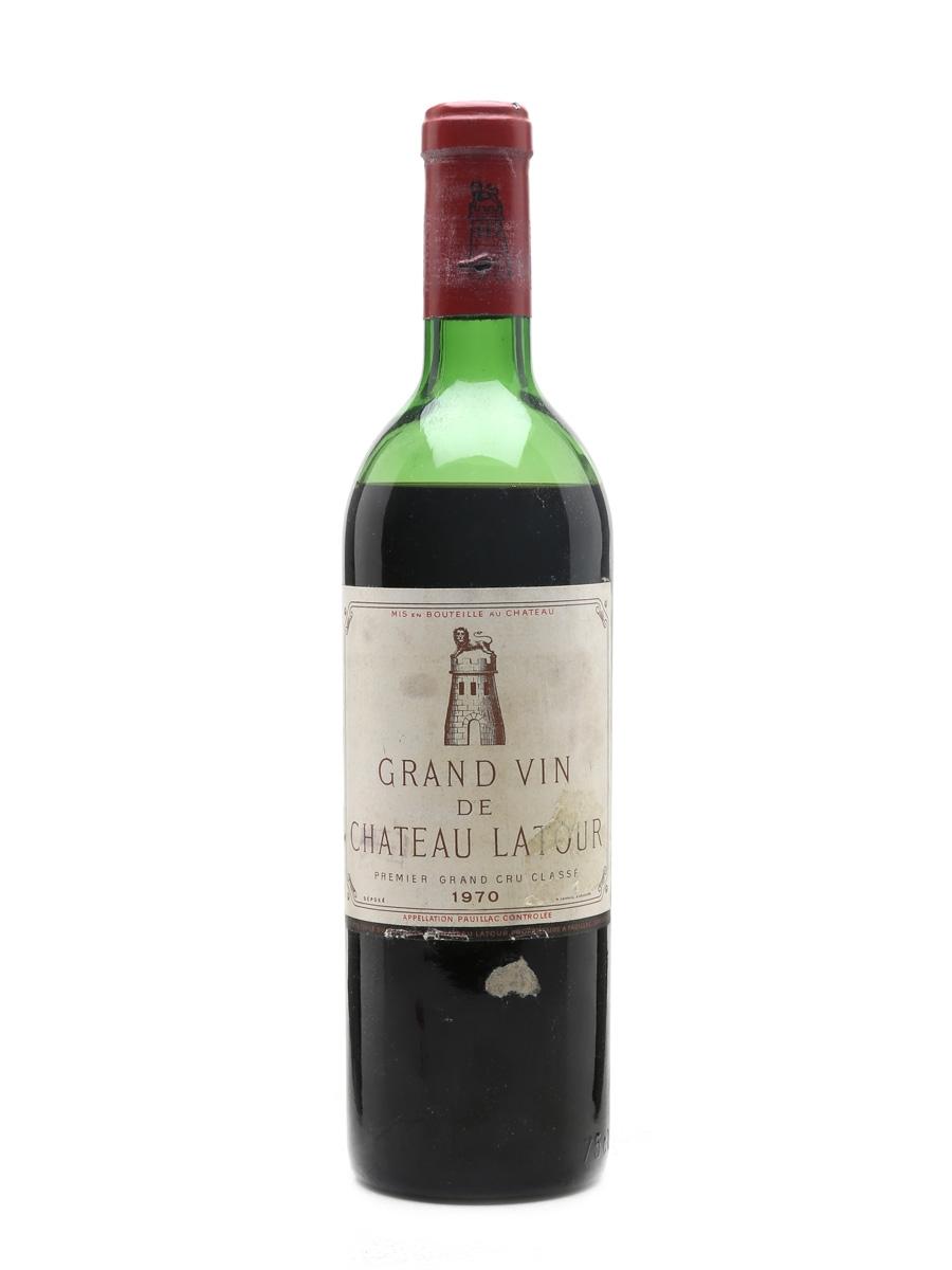 Chateau Latour 1970 Premier Grand Cru Classe - Pauillac 75cl / 12.5%