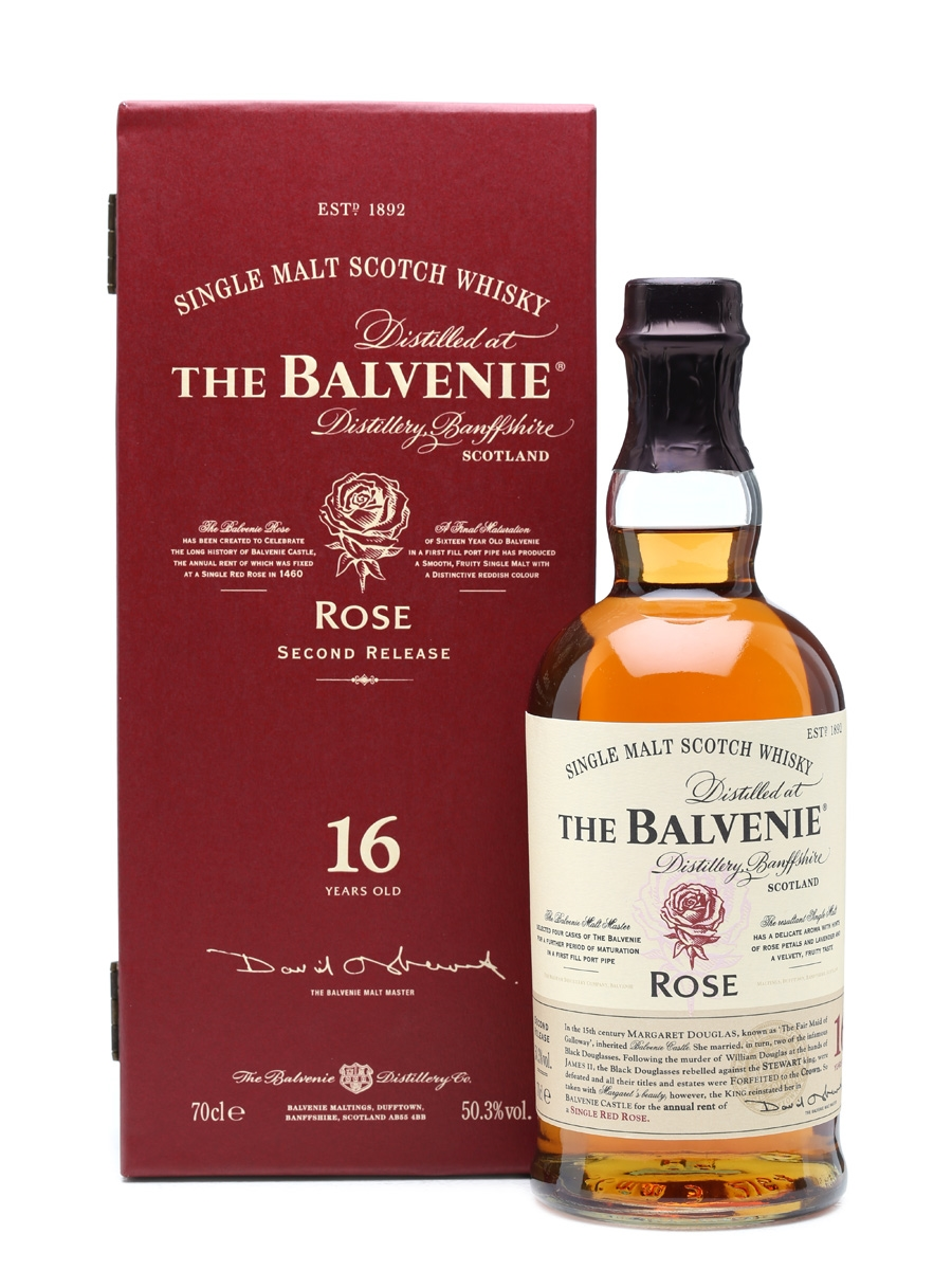 Balvenie Rose 16 Years Old Second Release 70cl / 50.3%
