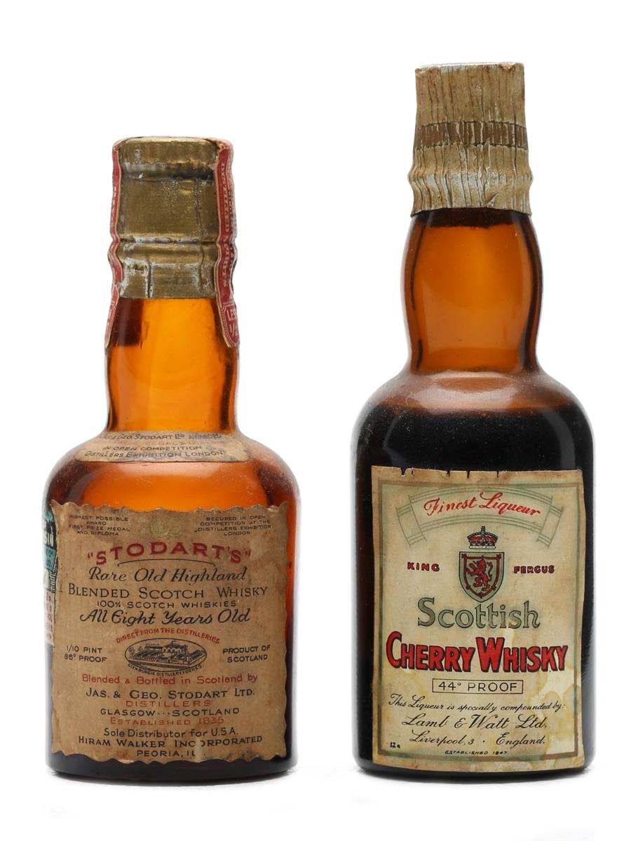 2 x Blended Whisky Miniatures