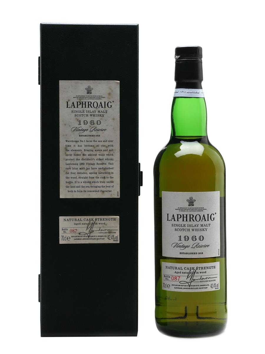 Laphroaig 1960 Vintage Reserve 40 Year Old 70cl / 42.4%