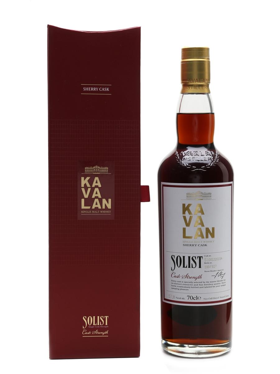 Kavalan Solist Sherry Cask Distilled 2010, Bottled 2016 70cl / 57.8%