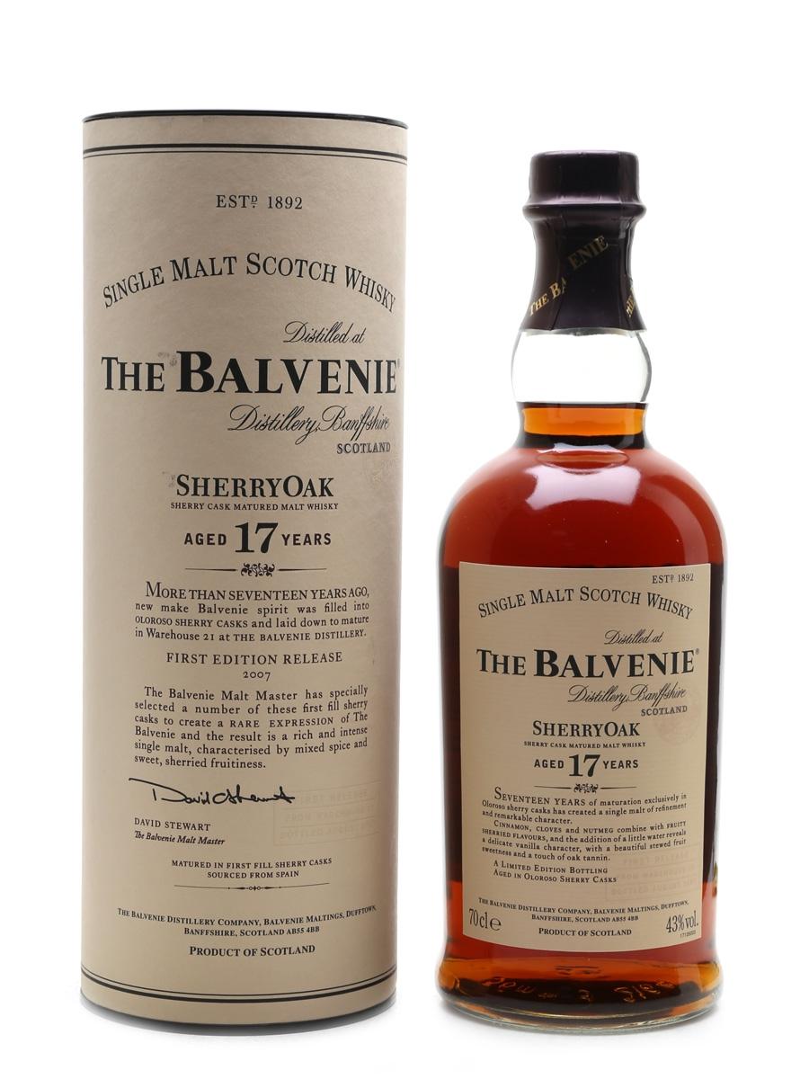 balvenie sherry cask 17
