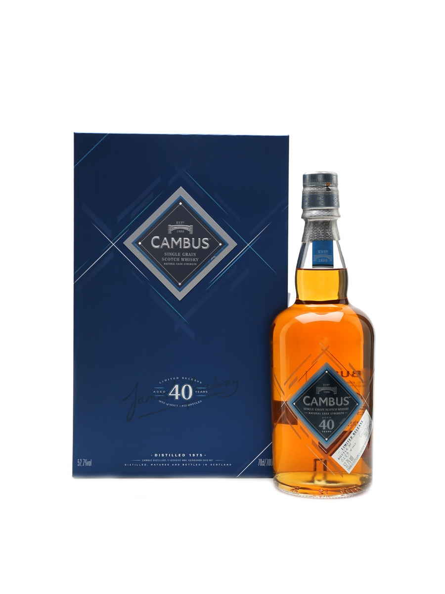 Cambus 1975 40 Year Old 70cl / 52.7%